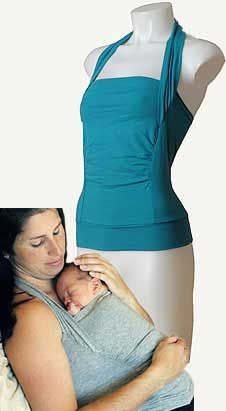 Réserve Privée - Kangaroo care and Baby wraps I will own 10 of these with my next baby!  This is what we did in the nursery when I worked there.  I think EVERY new mom needs one!  What a great gift, too!