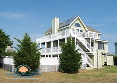 Corolla Vacation Rentals  Corolla House  Above All - Above All Exterior
