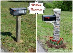 Mailbox Makeover / Beneath My Heart