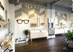 Visual merchandising, office decor, optical shop, glasses shop, optometry o Visual Merchandising, Retail Store Design, Retail Shop, Retail Displays, Optic Shop, Ideas Cafe, Optometry Office, Design Café, Design Ideas