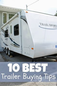 http://www.replacementtraveltrailerparts.com/ has a guide on everything pertinent for aspiring or current travel trailer owners.