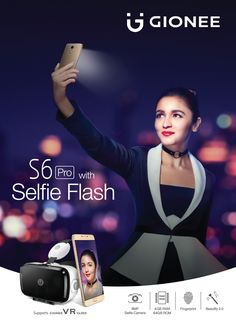 If you want a smartphone that will help you take bright Selfies all night long, then look no further than the Gionee S6 Pro. The S6 Pro has an 8MP selfie camera and a 13MP rear camera with F2.0 aperture and 5P lens that take clearer pictures, at any given time of the day. Use Gionee S6 Pro to click awesome profile pictures or post them as memories. You're bound to have an unforgettable experience.