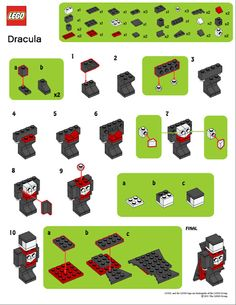 Mini Brick Spot: LEGO Mini Dracula