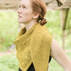 Just in case you think I only knit green shawls, I did knit Renewal Shawl in this gorgeous yellow too, #thefibrecompany Cumbria fingering in the colorway Buttermere.  What a great color name!  Another perfect photo by @softsweater     #Regram via @judymarplesdesigns