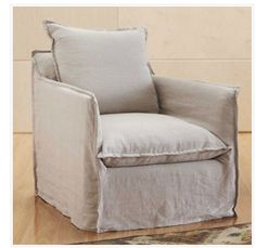 Slipcover for club chairs