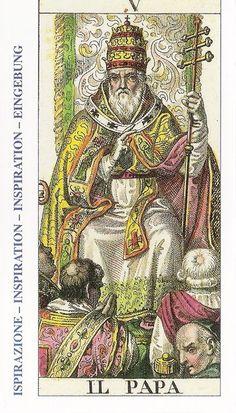El papa - El sumo sacerdote - Tarot
