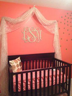 Home Decor Wooden Monogram Wall Art By CustomCutMonograms - Monogram wall decal for nursery
