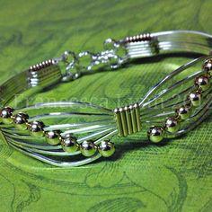DIY JEWELRY KIT for Wire Wrapped Butterfly Bracelets Jewelry #wirejewelry