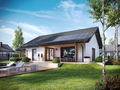 Корнель VI (с навесом) ENERGO Bungalow House Plans, Prefab, Pergola, Exterior, House Design, House Styles, Outdoor Decor, Home Decor, Top Top