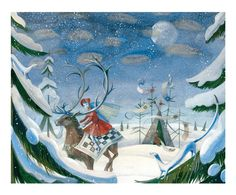 """The Snow Queen"" illustrated by Victoria Fimina"