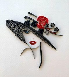 Arte Quilling, Quilling Work, Paper Quilling Patterns, Quilled Paper Art, Quilling Paper Craft, Paper Crafts, Paper Quilling For Beginners, Quilling Techniques, Quiling Paper