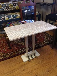 Piano Pedal Side Table Upcycled Repurposed by LOVEFurnitureDesign, $175.00