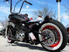 Knucklebuster built by Speed City Cycle - Best Chopper & Best in Show Winner - Roadbike Metric Bike Show.