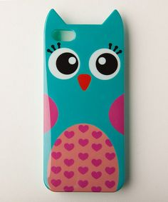 "Because I always say ""yes"" to owls. So cute! :: Owl Case for iPhone 5/5s"