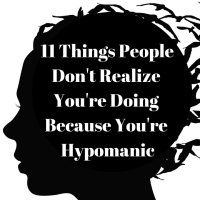 11 Things People Don't Realize You're Doing Because You're Hypomanic Bipolar Disorder Facts, Generalized Anxiety Disorder, Stress Disorders, Mental Health Quotes, Mental Health Awareness, Manic Episode, Bipolar Quotes, Compulsive Disorder