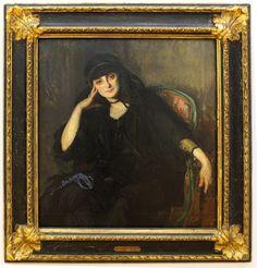 Jacques Emile Blanche Portrait of Anna de Noailles, 1919, oil on canvas, Musée d'art moderne et contemporain de Strasbourg, France Muse, Thomas Gainsborough, John Singer Sargent, Caravaggio, Art Moderne, Cool Art, Nice Art, Iconic Women, Rembrandt