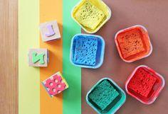 DIY Art Materials: How to Make a Stamp