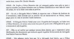 por Sulamita Esteliam Acabo de ler transcrição de duas fitas cassetes gravadas pelo advogado Joaquim Engler Filho, do escritório J. Engler Advogados Associados, de Belo Horizonte, Minas Gerais, em ...
