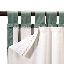 Walmart: Roc-Lon Blackout Energy Efficient Curtain Panel Liner, White