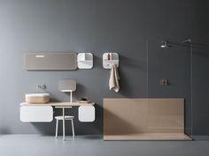 Download the catalogue and request prices of Wa By novello, bathroom furniture set design Stefano Cavazzana, oblon Collection