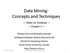 Data Mining Concepts Techniques Han Kamber Ebook