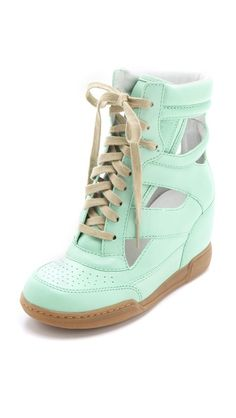 Marc by Marc Jacobs Cutout Sneaker Wedges. Click for more info or to buy.