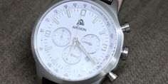 January Giveaway:  Areion White Chronograph