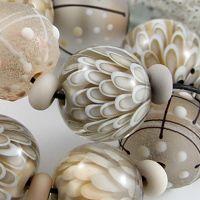 Magma Beads - lampwork beads