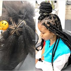 Braids with weave hairstyles cornrows protective styles 68 ideas - Braids with weave hairstyles cornrows protective styles 68 ideas - Protective Hairstyles, Weave Hairstyles, Cute Hairstyles, Protective Styles, Hairstyles Pictures, Updo Hairstyle, Wedding Hairstyles, Big Box Braids, Braids With Weave