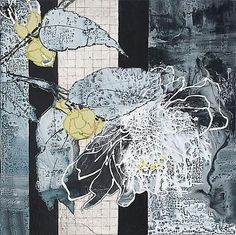 View Camellia Starlight by Robert Kushner on artnet. Browse more artworks Robert Kushner from DC Moore Gallery. Mixed Media Collage, Collage Art, Silk Painting, Painting & Drawing, Robert Kushner, Pattern And Decoration, Illustrations, Flower Art, Printmaking