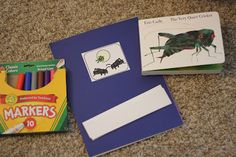 Comprehension activities for The Very Quiet Cricket by Eric Carle