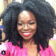 natural hair - To learn how to grow your hair longer click here - http://blackhair.cc/1jSY2ux