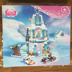 JG301 SY373 Anna Elsa Snow Queen Elsa's Sparkling Ice Castle Building Toys Blocks Brick Compatible Friends Lepin with Legoe Toys : SHOP