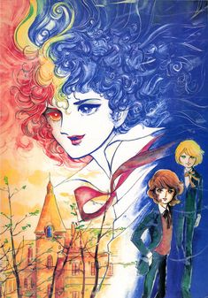 """""""The Family of Poe"""" by Moto Hagio. The story about vampire family.  Two vampire boys travel Europa, namely Germany and United Kingdom."""