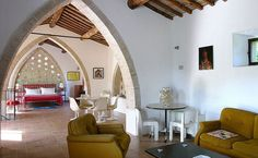 Italian bed and breakfast in converted barn