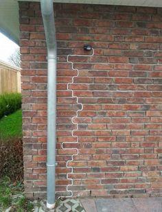 Dieser Umgang mit einem zu langen Kabel: