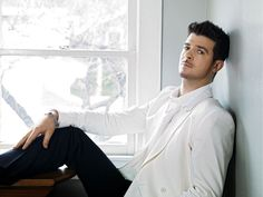 Robin Charles Thicke ( Born March is a Canadian-American R B singer-Songwriter, Actor and musician. Thicke is a dual citizen, also holding Canadian citizenship through his father, the Actor Alan Thicke . Alan Thicke, Robin Thicke, Hello Gorgeous, Beautiful Men, Beautiful People, Gloria Loring, It Goes On, Thats The Way, Christian Grey