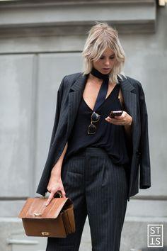 Street Fashion during Stockholm Fashion Week SS 2016
