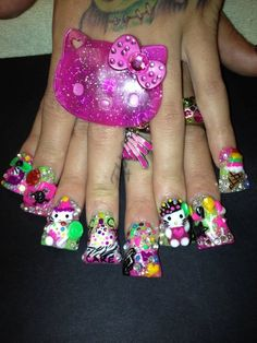 Nails ! OMG this is sooooooo outrageously funny!!!!!! Not even if you paid me Ewww