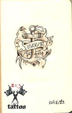 sketchbook. z tattoo.