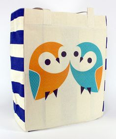 Look what I found on #zulily! Owl Pair Tote #zulilyfinds