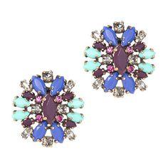 Crystal shimmer earrings - earrings - Women's jewelry - J.Crew