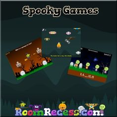 Check out some of our spooky games!
