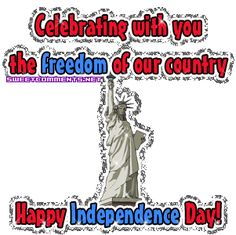 Lady Liberty Independence Day Tumblr gif