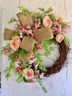 Farmhouse Wreath by GraceMonroeHome
