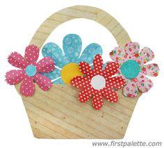Basket of Flowers craft