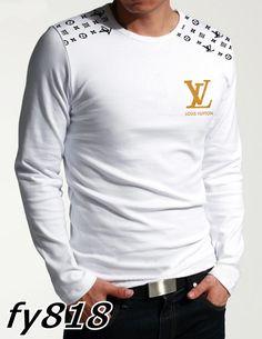 Louis Vuitton Men S Long Sleeve T Shirts 39 Pictures Louis Vuitton Mens Shirts, Louis Vuitton Clothing, Armani Shirts, White Tights, Mens Fashion Wear, Mens Activewear, Casual Shirts, Long Sleeve, Friends