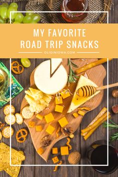 My Favorite Road Trip Snacks What do you snack on when you're on the road? Check out some of my favorites. Best Road Trip Snacks, Road Trip Food, Road Trip Hacks, Road Trips, Road Trip Theme, Road Trip Songs, Road Trip Photography, Healthy Work Snacks, Healthy Tips
