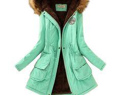 c227ef3478e85 Cheap Price Saimishi Autumn Winter Jacket Women Parka Warm Jackets Fur  Collar Coats Long Parkas Hoodies Office Lady Cotton Plus Size