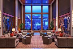 The Westin Riverfront Resort Spa at Beaver Creek Mountain Lobby